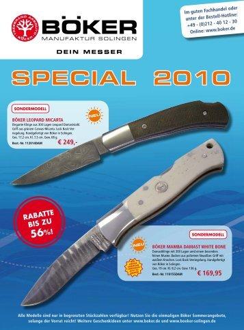 Böker Special   2010   Edition 1