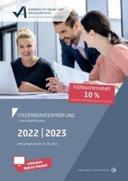 Steuerberaterprüfung 2022 I 2023