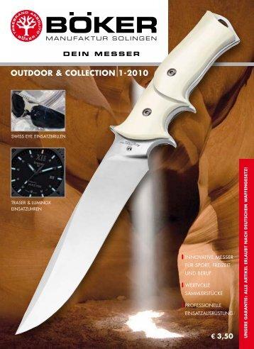 Böker Outdoor und Collection   2010   Edition 1