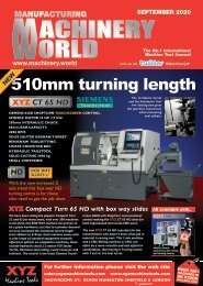 Manufaturing Machinery World September 2020