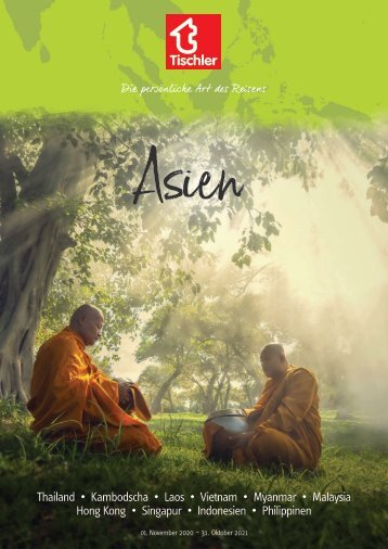 Tischler Reisen - Asien 2020-21
