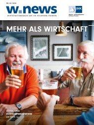 MEHR ALS WIRTSCHAFT| w.news 09.2020