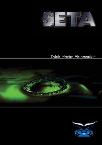 SETA Kataloğu 3 (TR) - seta - ıslak hacim ekipmanları