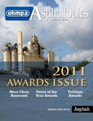 ASPHALTopics | Spring 2012 | VOL 25 | NO 1