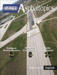 ASPHALTopcs | Summer 2012 | VOL 25 | NO 2