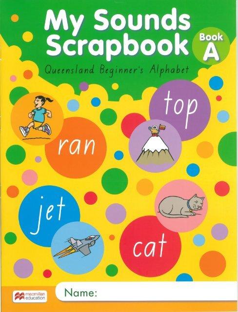 My Sounds Scrapbook QLD Book A