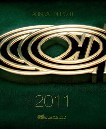2011 Annual Report - Arab African International Bank
