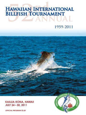 2011 Program - Hawaiian International Billfish Tournament