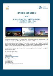 Other Services - Congress Solutions International