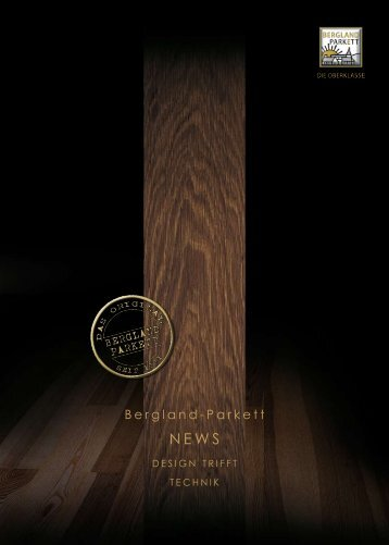 NEWS Flyer - Bergland-Parkett