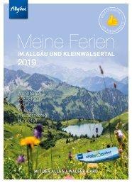 Meine Ferien im Allgäu und Kleinwalsertal mit der Allgäu-Walser-Card 2019