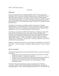 SARC 51 Panel Summary Report - New England Fishery ...