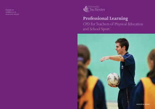 Professional learning: working together - University of Chichester