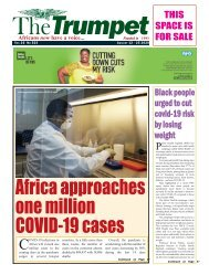 The Trumpet Newspaper Issue 525 (August 12 - 25 2020)