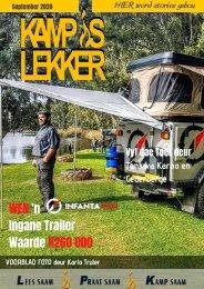 Kamp is Lekker September 2020 tydskrif