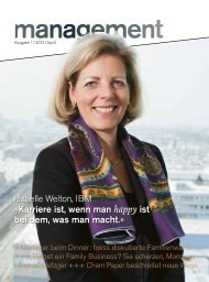 Ausgabe 1-2012 management Magazin - Promoganda
