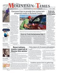Mountain Times - Volume 49, Number 36 - Sept.2-8, 2020