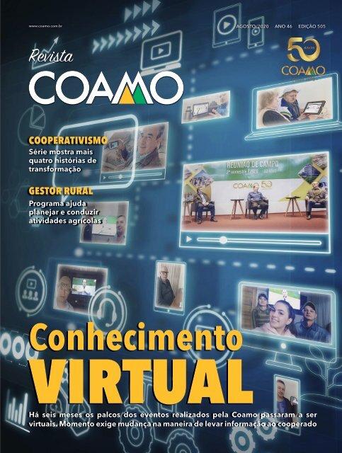 Revista Coamo Edição de Agosto de 2020