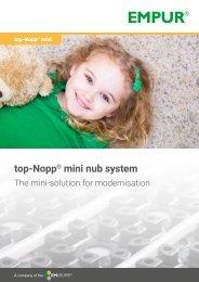 top-Nopp mini nub system en