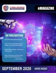 Cyber Defense eMagazine September 2020 Edition
