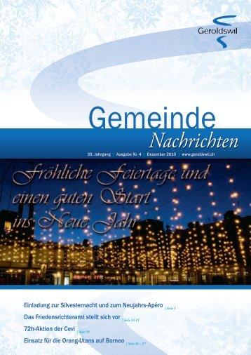 Nachrichten Nachrichten - Geroldswil