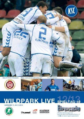 Stadionzeitung 19. Spieltag (KSC - Wehen ... - Karlsruher SC