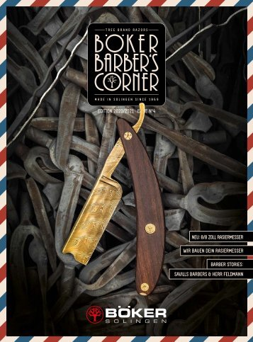 Böker Barbers Corner   Edition 2020 / 2021