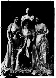Page 1 Page 2 THE AIDA QUARTETTE and EMR. C. POL ...
