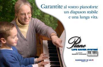 Il Sistema PIANO LIFE SAVER - Piano Life Saver System