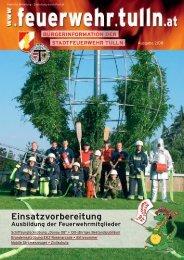 Einsatzvorbereitung Einsatzvorbereitung - Stadtfeuerwehr Tulln ...