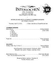 192 Chamber Singers 4-12.pdf - Arts Academy High School
