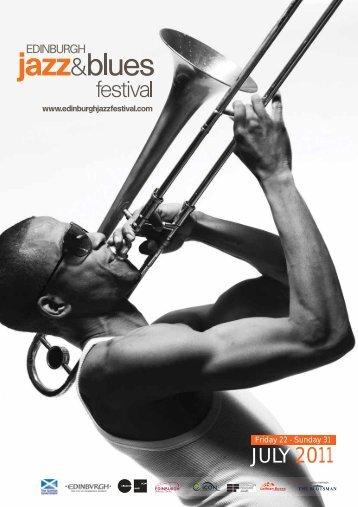 2011 brochure (PDF) - Edinburgh Jazz & Blues Festival