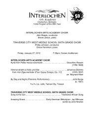133 Choir with TCWMS 1-27.pdf - Arts Academy High School