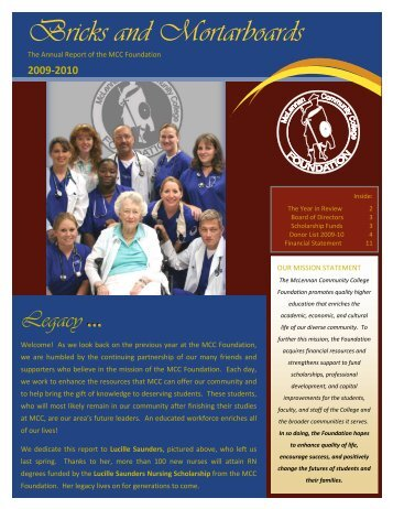 2009-2010 - McLennan Community College