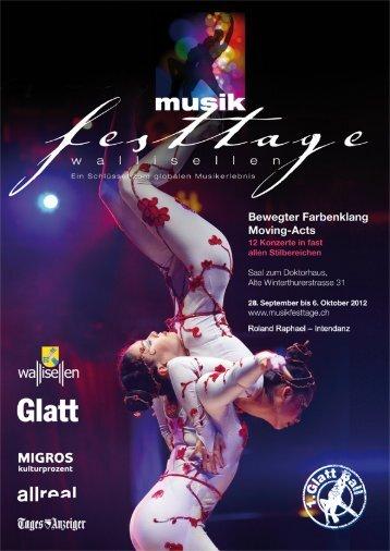 festtage - Musikfesttage Wallisellen