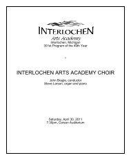 301 Choir 4-30.pdf - Arts Academy High School
