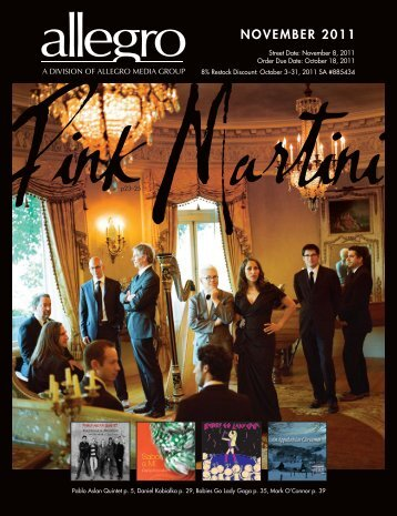 NOVEMBER 2011 - Allegro Music