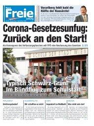 Corona-Gesetzesunfug: Zurück an den Start!