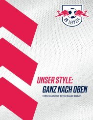 RB Leipzig Fankatalog 2020/21