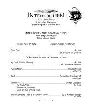 225 Choir 4-27.pdf - Arts Academy High School