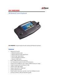 DH-NKB3000 - DAHUA Technology