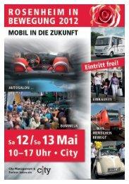 D - City-Management Rosenheim
