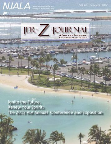 Download Issue - New Jersey Association of Legal Administrators