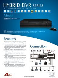 Hybrid DVR Spec - Alpine Security