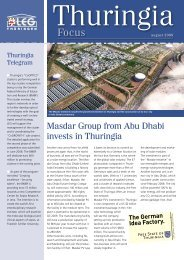 Masdar Group from Abu Dhabi invests in Thuringia