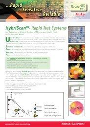 Rapid Test Systems Use HybriScan - Scanbec GmbH