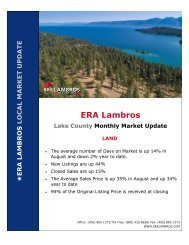 Lake County Land Update - August 2020