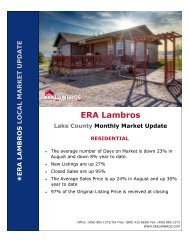 Lake County Residential Update - August 2020