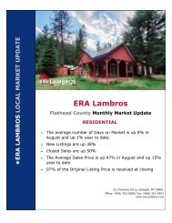 Flathead County Residential Update - August 2020