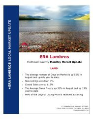 Flathead County Land Update - August 2020
